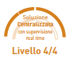 Soluzione Centralizzata con supervisione real time