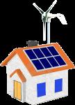 casa energia solare eolica