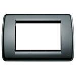 Vimar 16763..16 - Placca Rondò 3M nero
