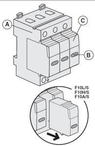 Bticino BTI F10A-4 istruzioni
