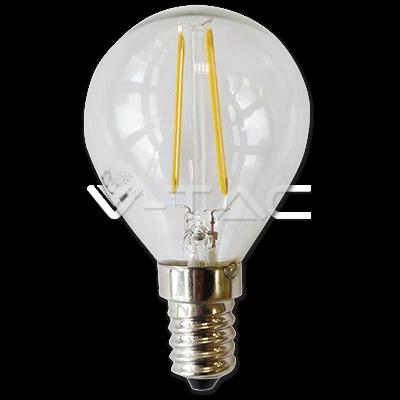 Lampadina Filamento LED 2W COG E14 P45