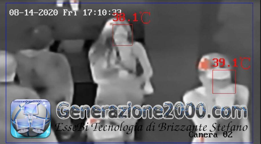esempio termocamera infrarossi