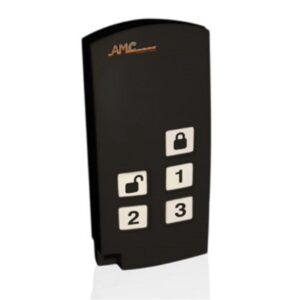 TR400 AMC ELETTRONICA ALLARME ANTIFURTO radiocomando batteria inclusa